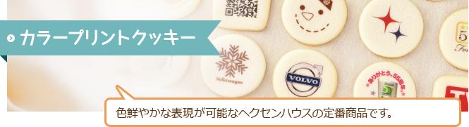 カラープリントクッキー 色鮮やかな表現が可能なヘクセンハウスの定番商品です